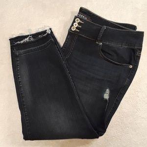 Torrid Premium Distressed Jeggings Size 22